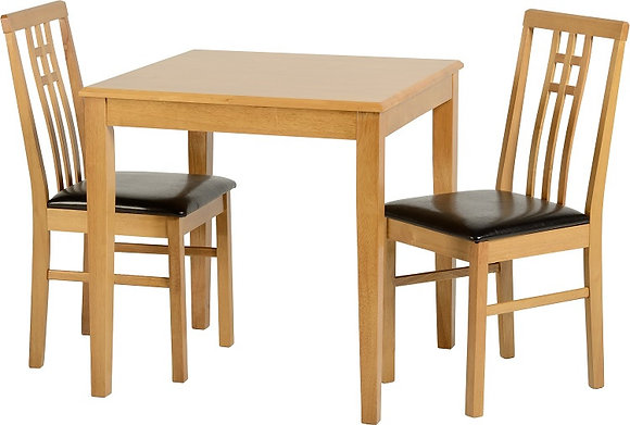 venus 2 seater dining set