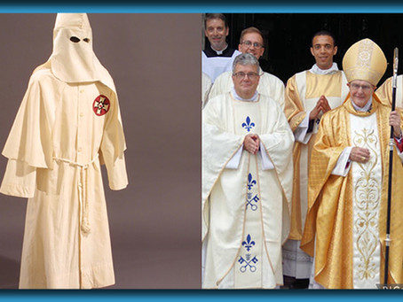 Shortage Of Robes For Newly Ordained Priests Forces Catholic Church To Recycle Their Old KKK Hoods