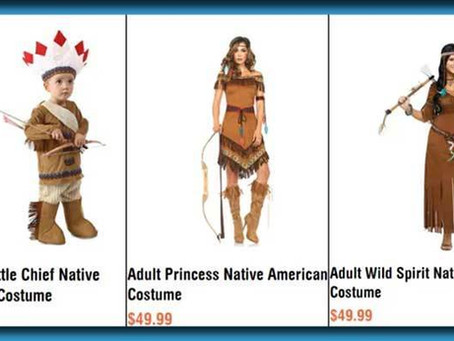 """This Year's """"Sexy Cherokee"""" Costume Comes With Full Experience Of Oppression And Disenfranchisement"""