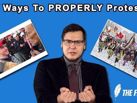News Monologue #3 – 3 Ways To PROPERLY Protest