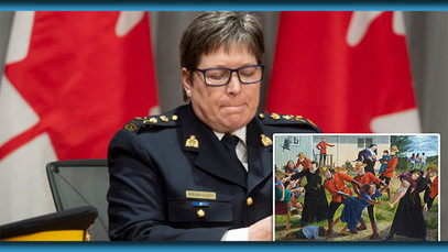 RCMP Commissioner Vows To Complete Their Mission Of Fully Displacing Indigenous People