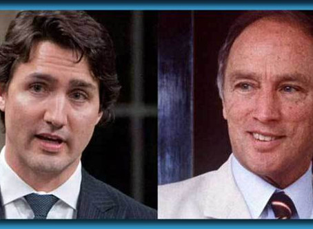 """Ghost Of Trudeau Sr. Returns To Console Son: """"Thought I Told You To Not Mess With The Indians"""""""