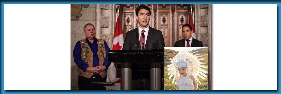 "Trudeau Unveils Plan To Send All White Children To ""Reconciliation Schools"""