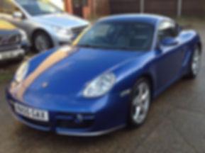 Porsche Cayman (2005) - Marcus James Used Cars Suffolk