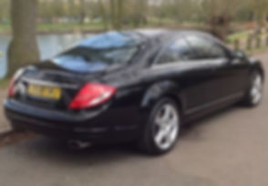 Mercedes-Benz CL 5.5 CL500 2dr - Marcus James Used Cars Suffolk