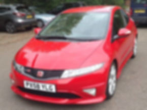 Honda Civic 2.0 i-VTEC Type R GT 3dr - Marcus James Used Cars Suffolk
