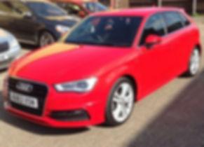 Audi A3 2013 (63 reg) - Marcus James Cars Used Cars Suffolk