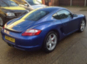 Porsche Cayman (2005) - Marcus James Used Cars Suffolk