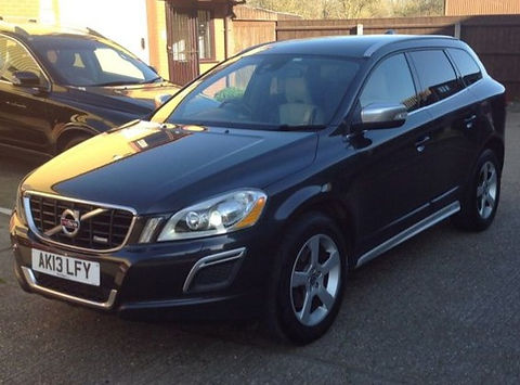 Volvo XC60 2.4 D5 R-Design AWD 5dr - Marcus James Used Cars Suffolk