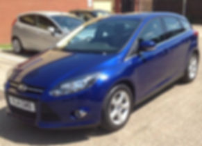 Ford Focus 2014 (14 reg) - Marcus James Used Cars Suffolk