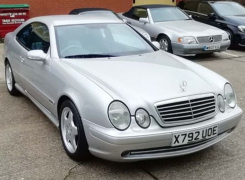 Mercedes-Benz CLK 2002 (X reg)  5.4 CLK55 AMG 2dr - Marcus James Used Cars Suffolk
