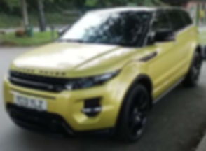 Land Rover Range Rover Evoque - Marcus James Used Cars Suffolk