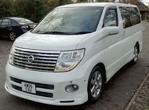 Nissan Elgrand 2005 (05 reg) - Marcus James Used Cars Suffolk