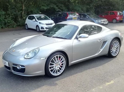 Ford Porsche Cayman 2007 (57 reg) - Marcus James Used Cars Suffolk