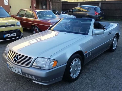 Mercedes-Benz SL Class 1995 (M reg) - Marcus James Used Cars Suffolk