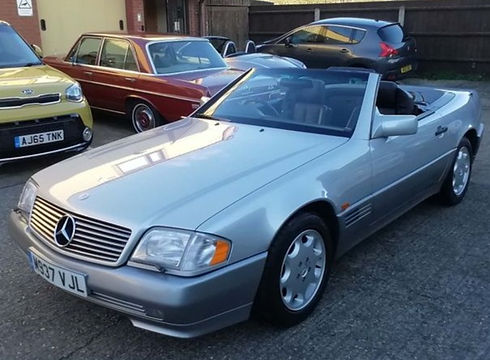 Mercedes-Benz SL Class 1995 (M reg) - Marcus James Used Cars Suffolk