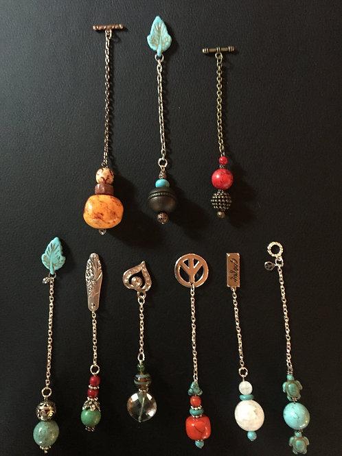 Custom made pendulums, no two alike!