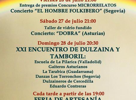 La Tarabica estará el domingo en el XXI Encuentro de Dulzaina y Tamboril