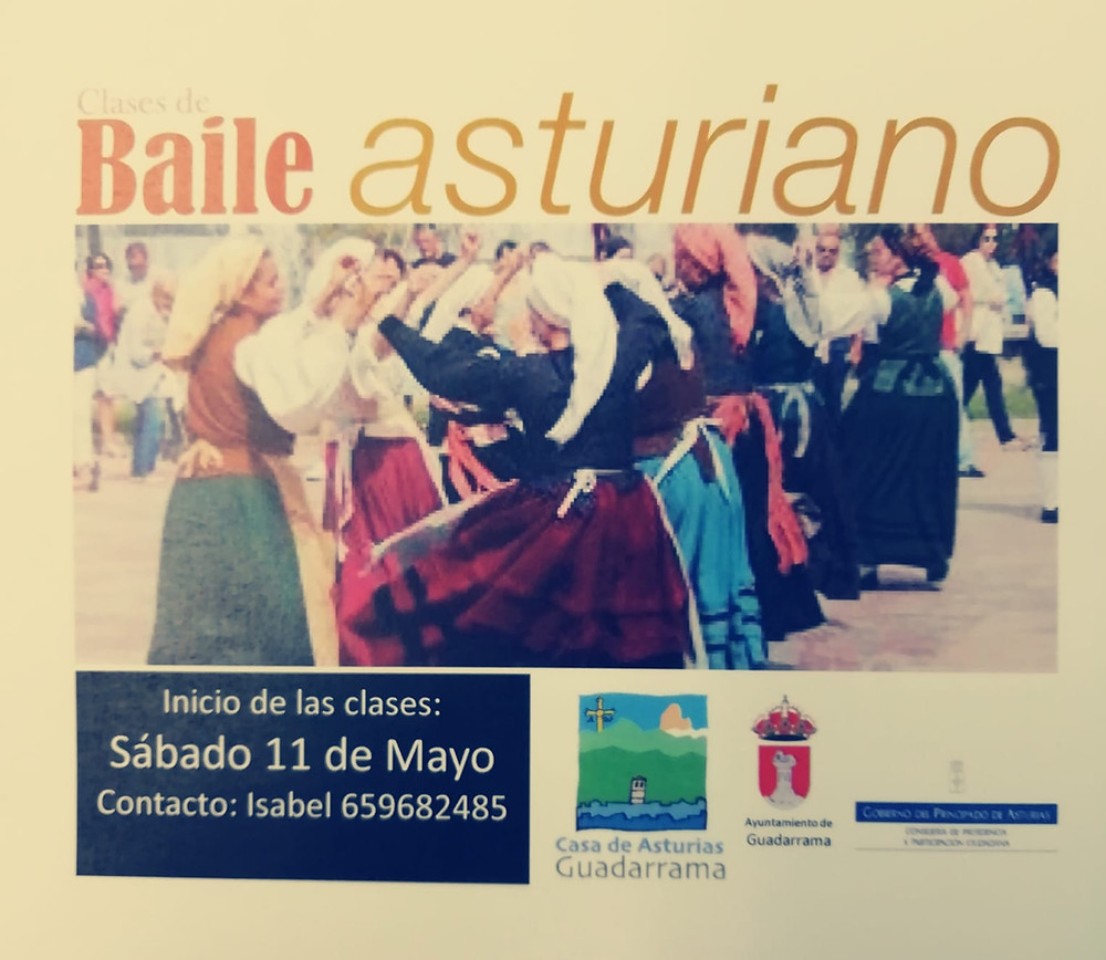 Baile Asturiano en GUadarrama