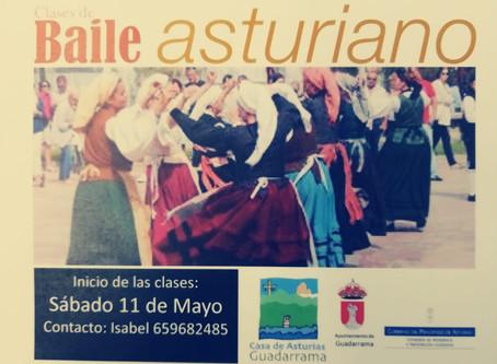 Comenzamos las clases de baile asturiano
