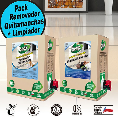 Removedor + Limpiador Piso Ceramicas/Porcelanato Beox® 5Lt