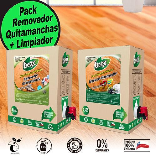 Removedor + Limpiador Piso Flotante/Laminado  Beox® 5Lt