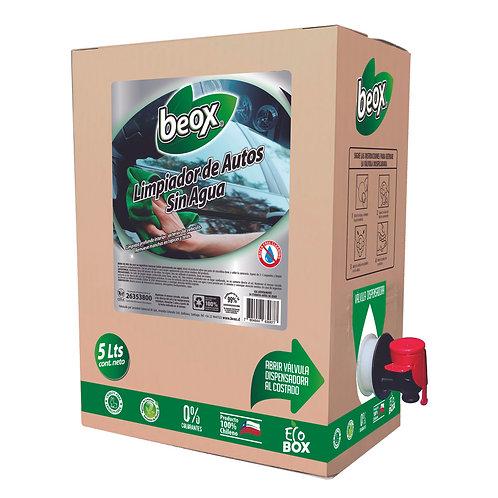 Limpiador De Autos Sin Agua Beox® 5lts - CAJA CON 4 UNIDADES