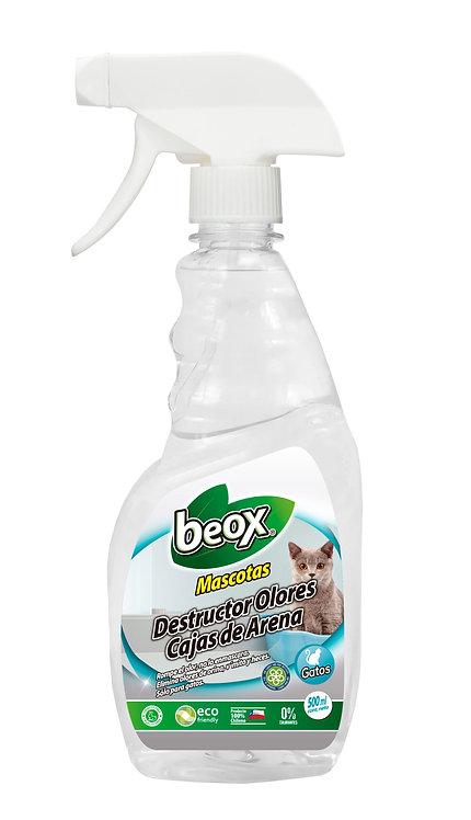 Destructor Olores Caja De Arena  Beox® 500ml