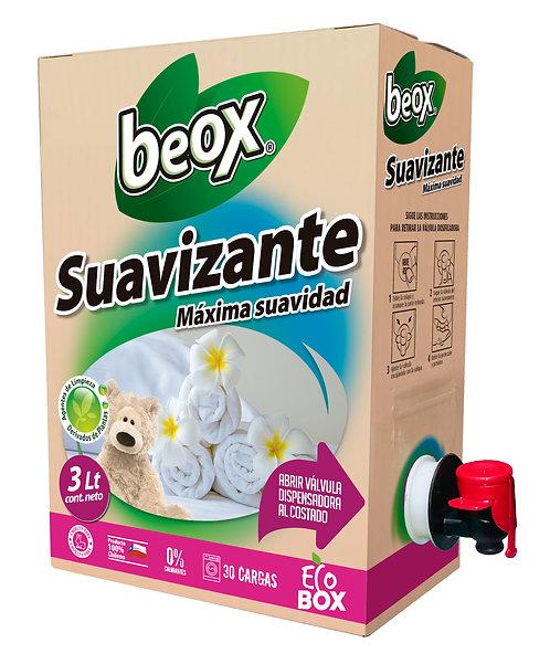 Suavizante Beox® Ecobox 3lts C/U - CAJA CON 6 UNIDADES