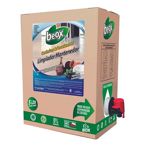 Limpiador Porcelanato & Ceramicas Beox® 5lts