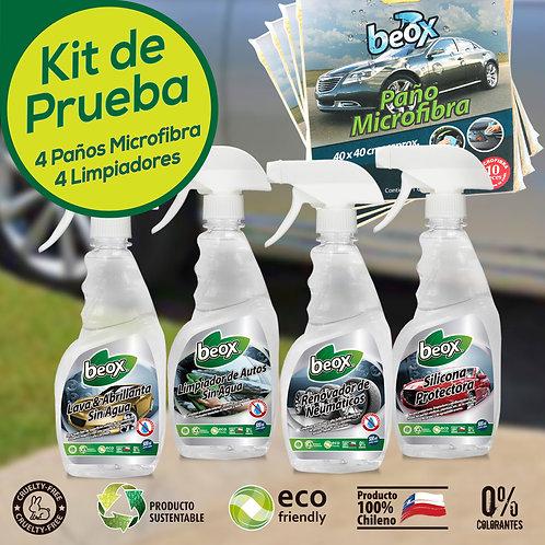 Kit Lavado Auto Sin Agua Beox®