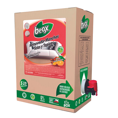 Removedor Manchas Telas Y Tapices Beox® 5 Lts