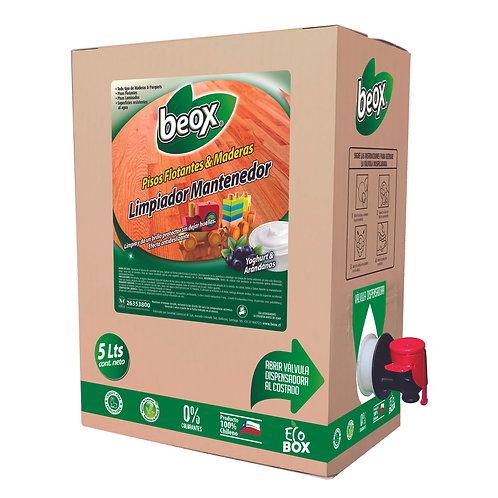 Limpiador Piso Flotante & Parquet Beox® 5lts