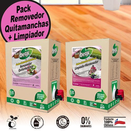 Removedor + Limpiador Piedras/Baldosas Beox® 5Ls