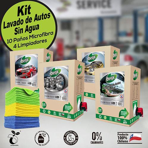 Kit Profesional Lavado Auto sin agua Beox®