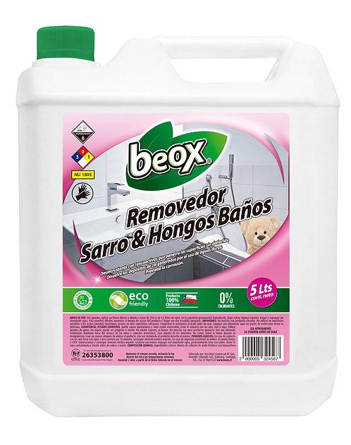 Removedor Sarro y Oxido Baños Beox® 5lts