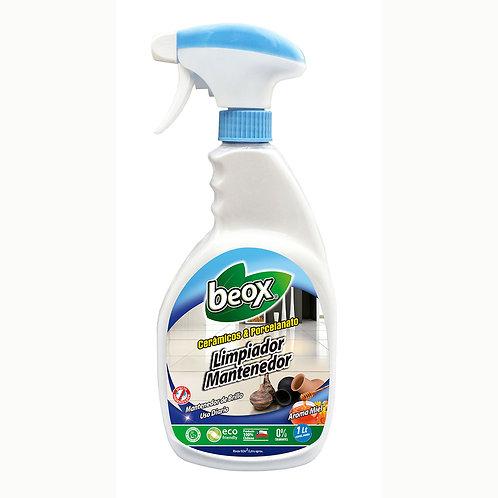Limpiador Porcelanato & Ceramicas Beox® 1lt C/Gatillo