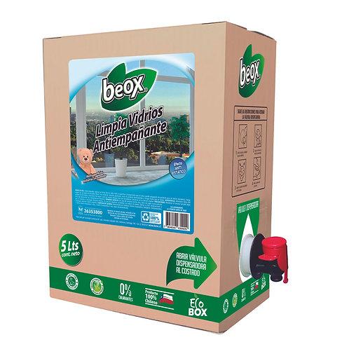 Limpiador Vidrios Antiempañante Beox® 5 Lts