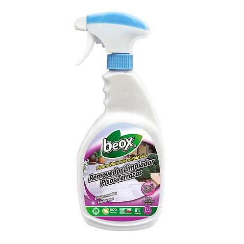 Removedor Limpiador Pisos Terrazas Beox®  1lt C/Gatillo