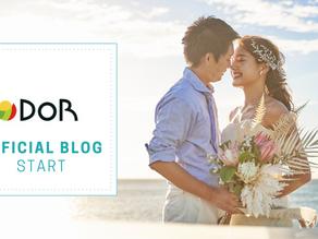 DOR weddingオフィシャルブログがスタート♡