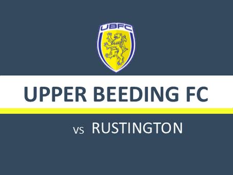 MATCH PREVIEW: UBFC v RUSTINGTON