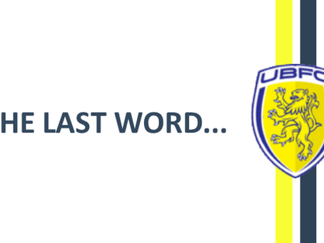 LAST WORD ON THE MONTH OF AUGUST…….. FREE-SCORING!
