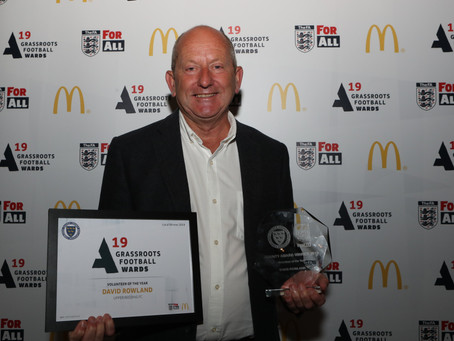 Dave Rowland - Volunteer of the Year