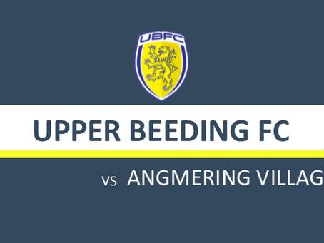 MATCH PREVIEW: UBFC v ANGMERING VILLAGE