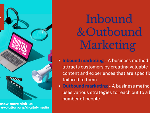 Overview of Inbound and Outbound Marketing