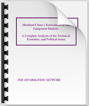 Mainland China's Semiconductor & Equipment Markets