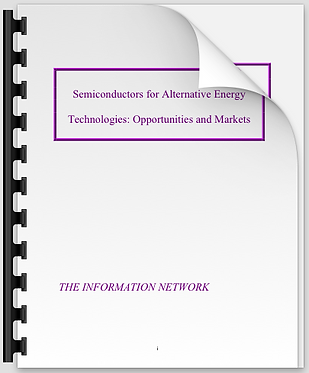 Semiconductors for Alternative Energy Technologies: Opportunities & Markets