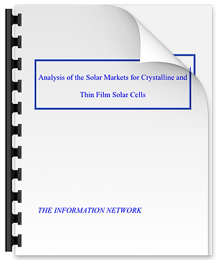 Analysis of the Solar Markets for Crystalline and Thin Film Solar Cells