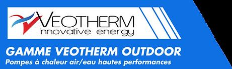 gamme pompes à chaleurs outdoor veotherm