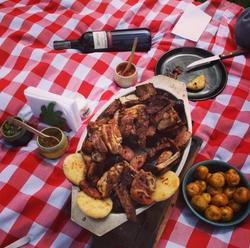picnic parrillada